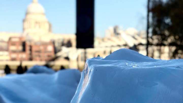 See the ice before it is gone: Olafur Eliasson brings Arctic icebergs toLondon